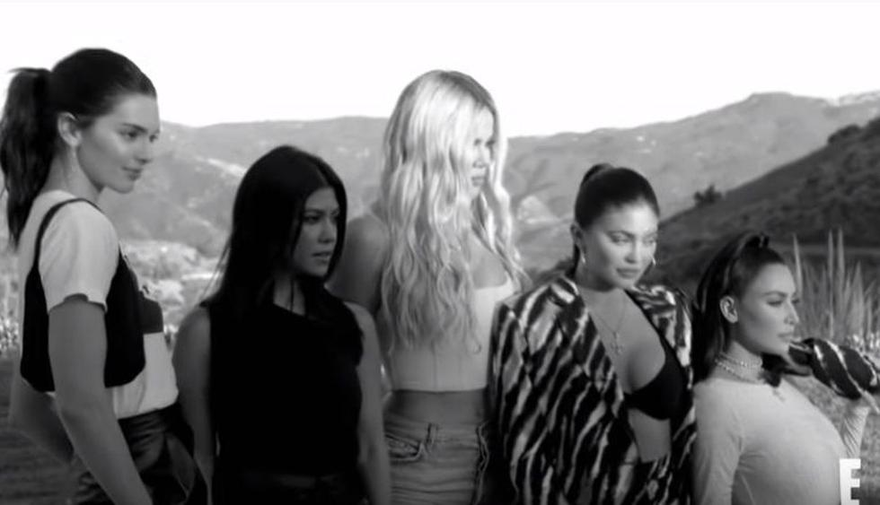 "Salió el último avance de la nueva temporada de ""Keeping Up With The Kardashians"". (Imagen: Captura YouTube E!)"