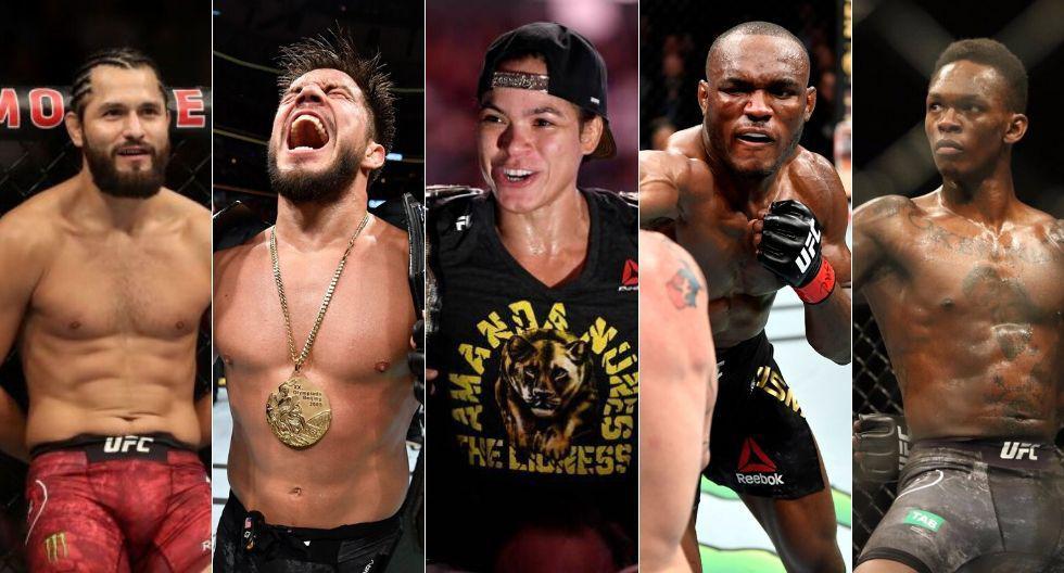 Estos son los mejores peleadores del UFC en el 2019 (Fotos: Agencias /UFC)