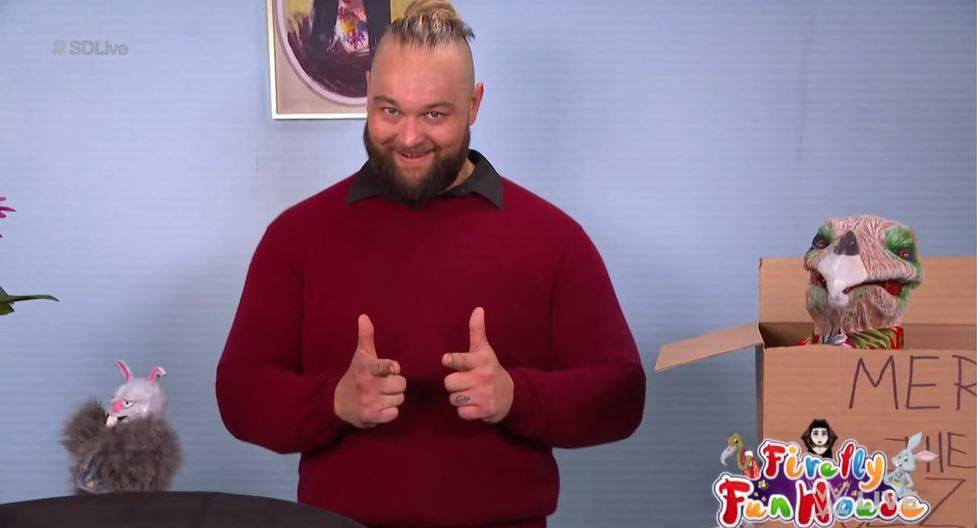 Bray Wyatt hará su regreso oficial ante Finn Bálor. (WWE)
