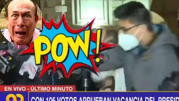 Los seguidores del Wasap de JB quieren de regreso a Yuca para la parodia del puñete al congresista Ricardo Burga. (Internet)