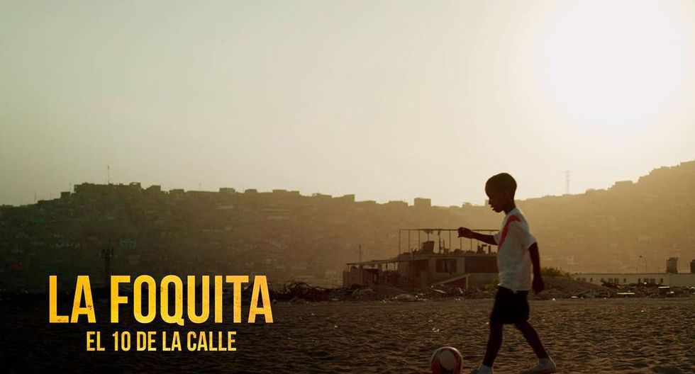 """Lanzan el primer teaser de la película """"La Foquita: El 10 de la calle"""", basada en la vida de Jefferson Farfán. (Foto: Lfante Films)"""
