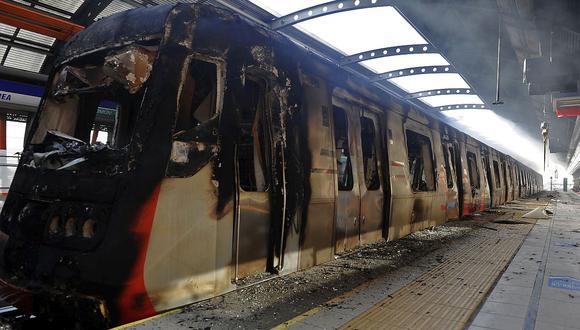 El alza de la tarifa del Metro de Santiago fue el detonante de las protestas sociales en Chile. (Foto: AFP)<br>
