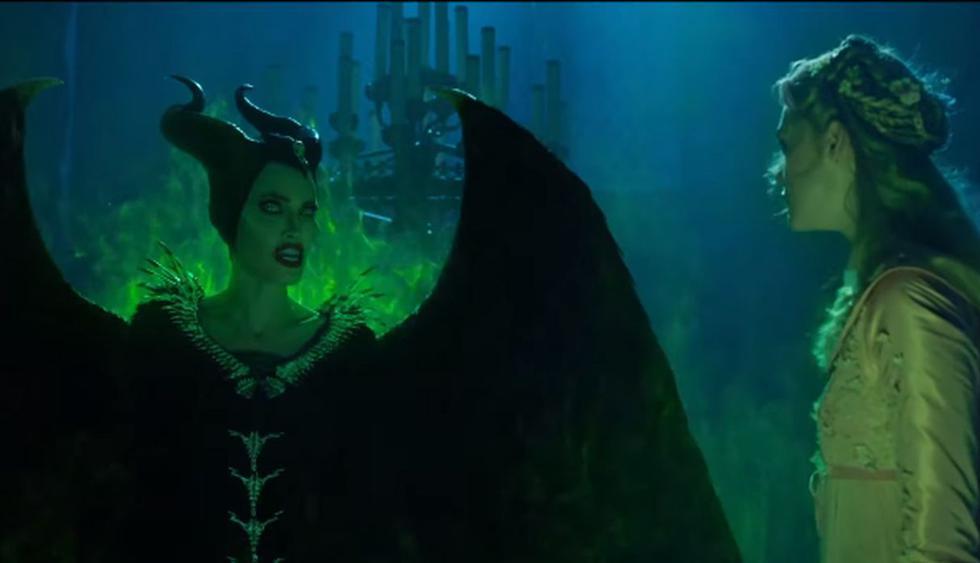 """Disney estrenó el segundo tráiler de """"Maléfica 2: Dueña del mal"""", la película que protagoniza Angelina Jolie. (Foto: Captura de video)"""