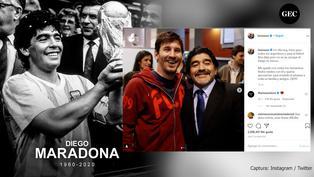 Diego Maradona: Futbolistas, políticos y artistas se despidieron al astro argentino a través de las redes sociales