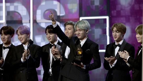La banda surcoreana está compuesta por siete integrantes: Jin, Suga, J-Hope, RM, Jimin, V y Jungkook (Foto: Allk-pop)