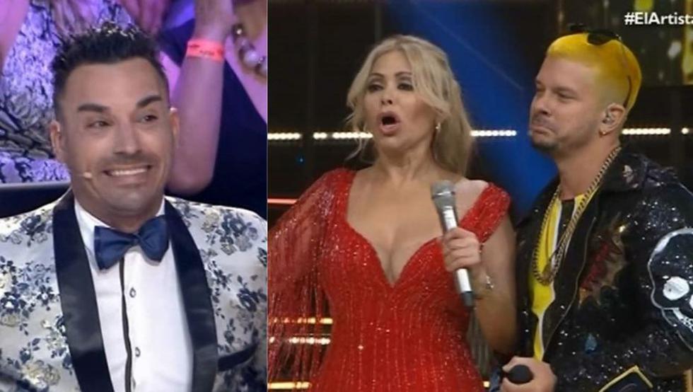 Santi Lesmes y su épica troleada a Mario Hart que lo dejó 'frío' en 'El artista del año'