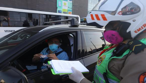 La cuarentena total rige en 32 provincias del país que se encuentran en alerta sanitaria extrema, entre las que figura Lima. (Foto: Gonzalo Córdova/GEC)