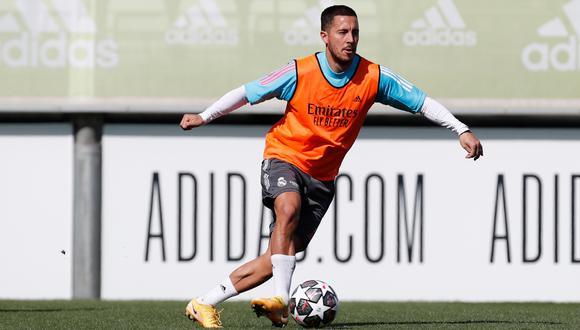 Eden Hazard tampoco estará en Anfield para la revancha del Real Madrid vs. Liverpool por la Champions League. (Foto: Real Madrid)