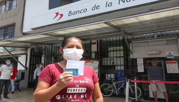 El segundo Bono Familiar Universal de 760 soles busca beneficiar a 8,4 millones de hogares a nivel nacional (Foto: Andina)