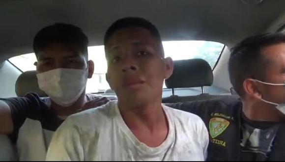 El escurridizo Deibin Shuña Inga (18), 'Fideito', fue detenido nuevamente por agentes del Grupo Terna, cuando robaba en San Juan de Lurigancho.