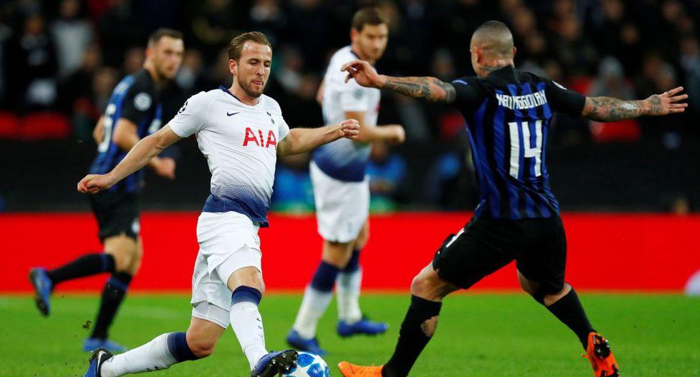 Tottenham vs Inter de Milán: Partido por el Grupo B de la Champions League