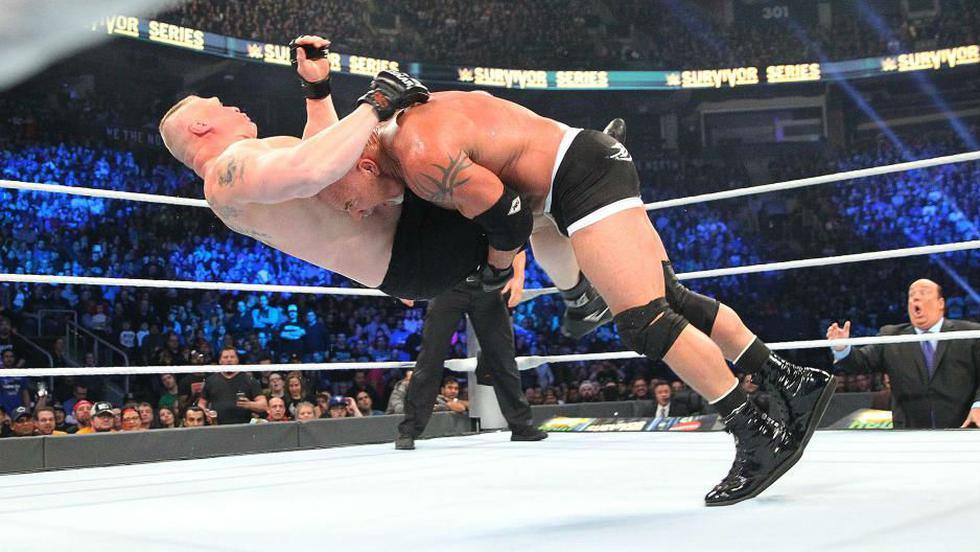 Goldberg tuvo un regreso a lo grande en WWE Survivor Series. (WWE)