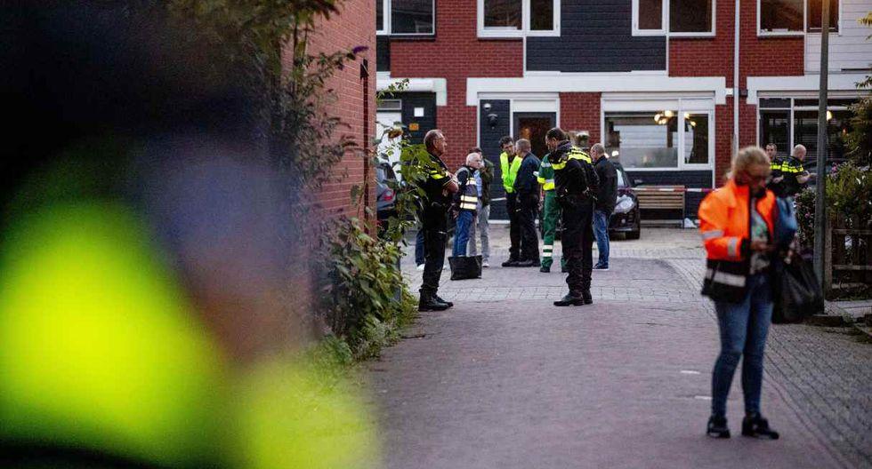 En el lugar, la policía ha realizado un cerco de seguridad. (AFP)