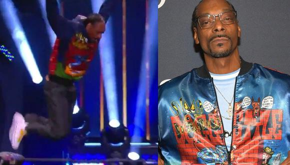 'El Dogfahter' Snoop Dogg se subió al ring de All Elite Wrestling. ( Captura redes sociales)