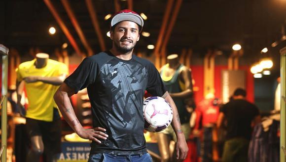 Reimond Manco no renuncia a su sueño de volver a la 0Blanquirroja' (Foto: GEC)