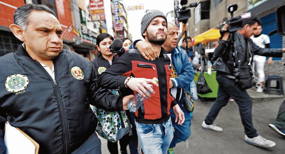 Cuartelero venezolano confesó su participación en el crimen de dos hombres, cuyos cuerpos fueron descuartizados. (Fotos: Trome)