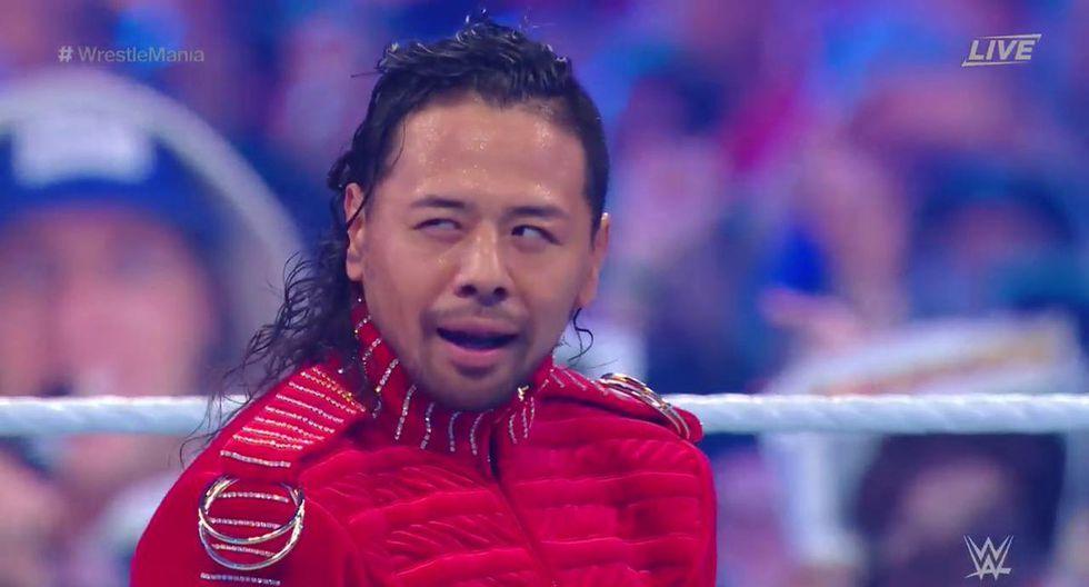 Shinsuke Nakamura y AJ Styles tuvieron una épica pelea.