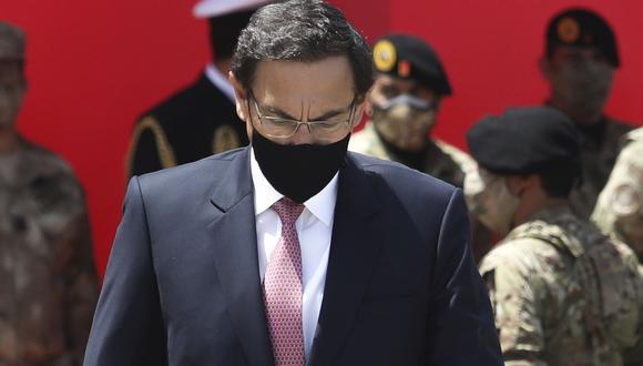 Martín Vizcarra afirmó que se defenderá en todas las instancias (Foto: Britanie Arroyo)
