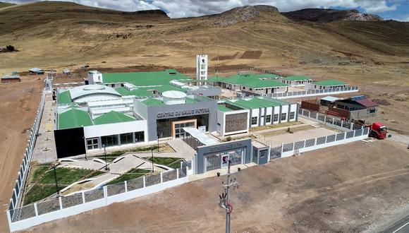 Puno: en diciembre entrará en funciones el nuevo centro de salud de San Antonio de Putina (Foto: Pronis).