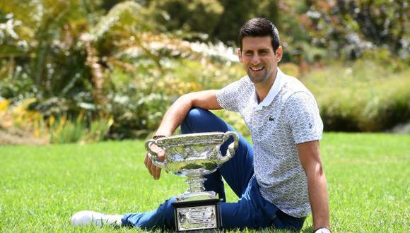 """Djokovic reveló que el 2010 era número 3 del mundo pero """"veía todo negativo"""""""