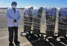 Cinco                         ventiladores volumétricos para atención de                         pacientes COVID-19 son entregados a la Diresa                         Puno