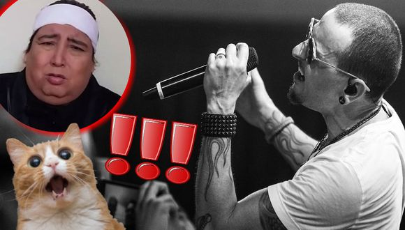 Tongo prometió hacer un homenaje a Chester Bennington, fallecido líder de Linkin Park. (Trome.pe)