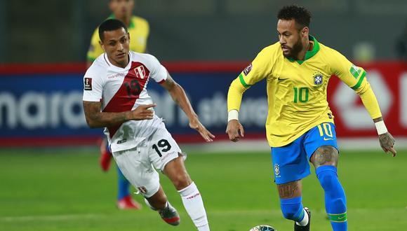 Perú vs. Brasil: las imágenes del partido en el Estadio Nacional por las Eliminatorias Qatar 2022. (Foto: AFP)