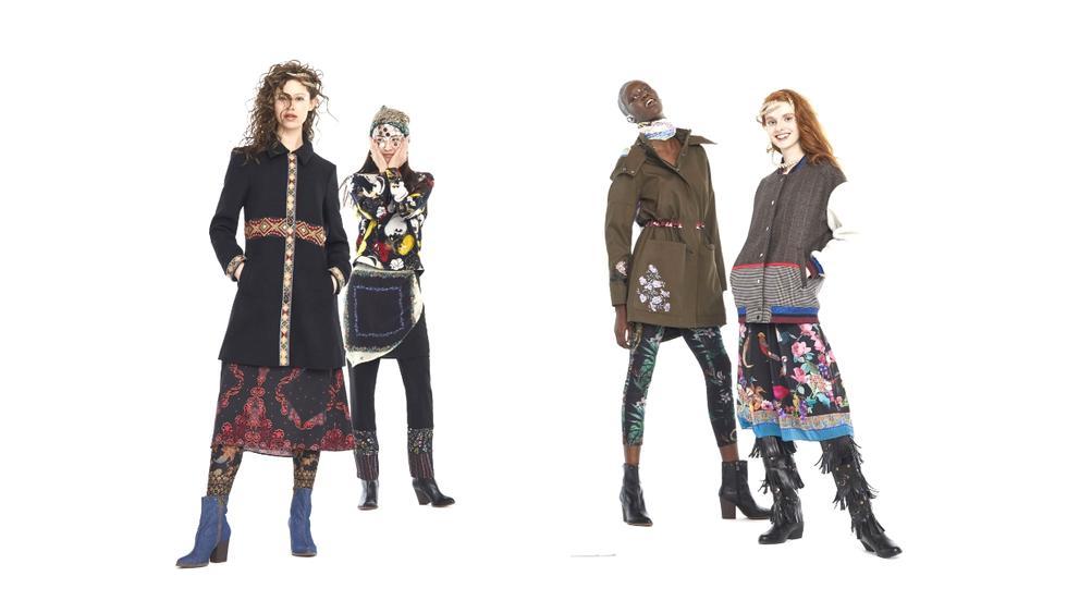 Cada día se siente más las baja temperatura del invierno y nacen las dudas acerca de qué prendas usar para protegernos del frío y mantener el estilo. (Foto: Desigual)