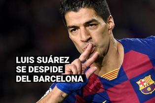 """Luis Suárez rompió en llanto en su despedida: """"Me tengo que ir orgulloso del Barcelona"""""""