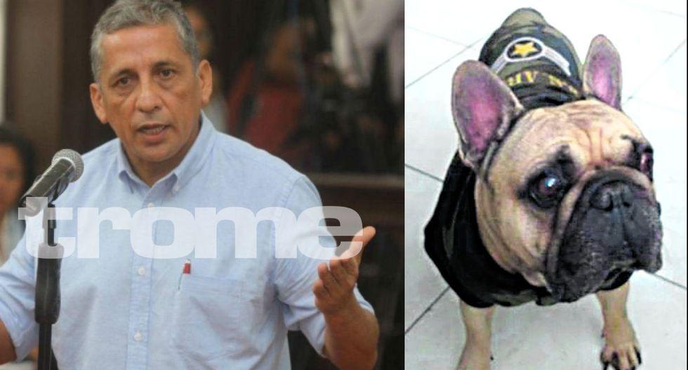 Autoridades del INPE ordenaron entregar su perrito a Antauro Humala. (GEC)