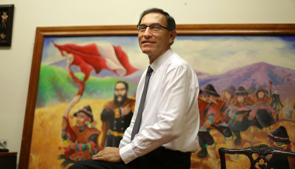 Martín Vizcarra fue felicitado por el primer ministro de Canadá. (Composición: Trome.pe / Fotos: AFP, USI)