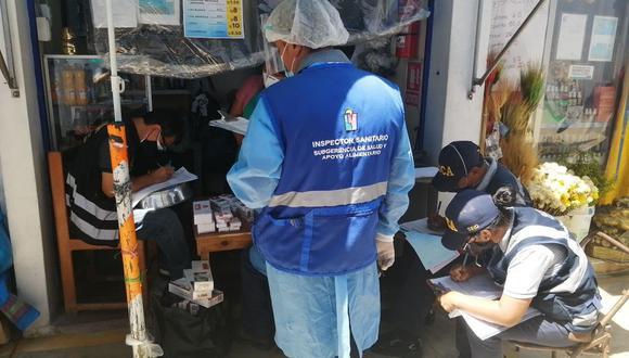 Operativo fue en el Mercado Minorista número 1 de La Victoria. | Foto: Difusión