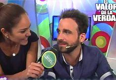 Rodrigo González y Karen Schwarz: la única vez que estuvieron juntos en TV antes de su pelea