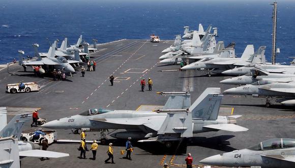 Potencias mundiales hacen fuertes inversiones en armamento y material bélico. (Foto: Reuters)