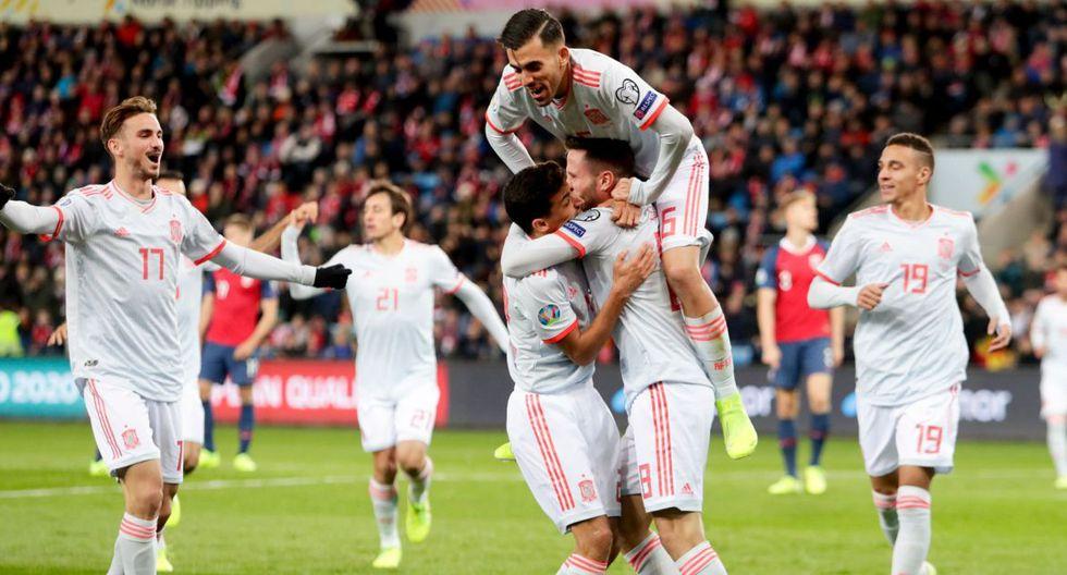Golazo de Saúl: Furibundo remate en el partido España vs Noruega por Eliminatorias Eurocopa 2020