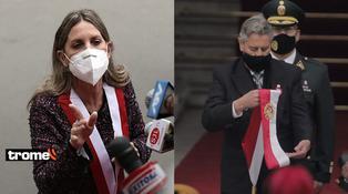 """María del Carmen Alva, presidenta del Congreso, sobre Sagasti: """"Es lo que indicaba el protocolo"""""""