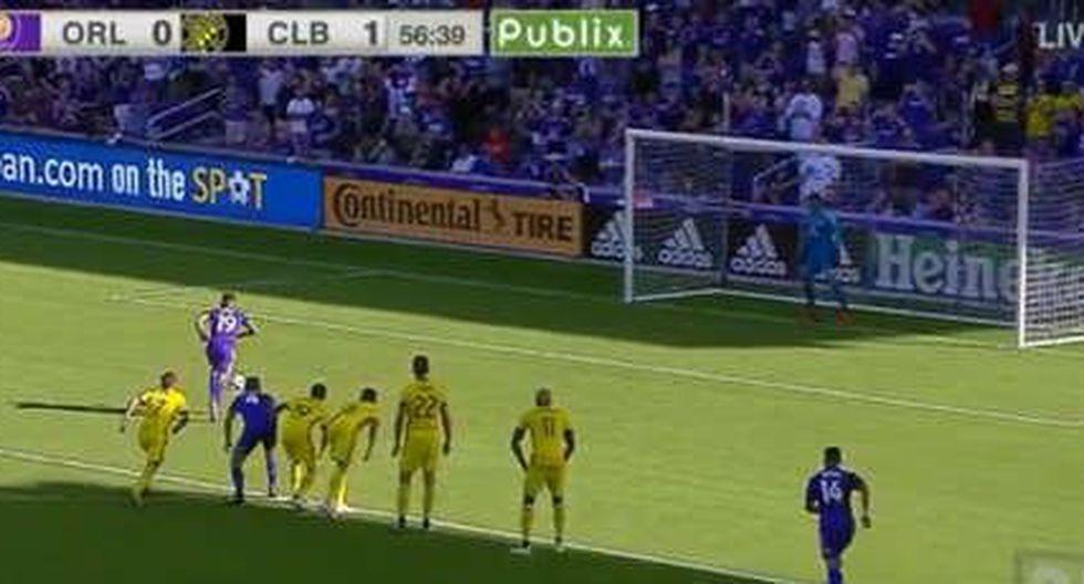 Yoshimar Yotún anotó este gol de antología en la MLS.