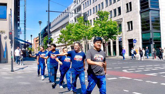 Grupo 5 en Berlín