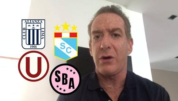 Eddie Fleischman propone esto cambios para nueva reanudación de la Liga 1