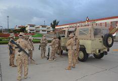 Coronavirus en Perú: Soldados de Locumba apoyan en patrullaje durante el toque de queda en Arequipa