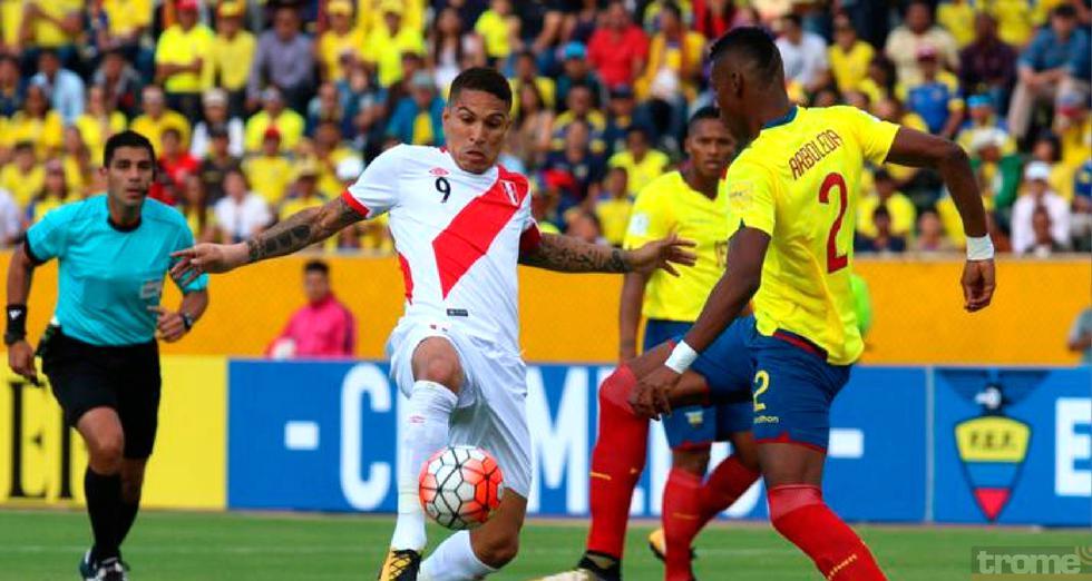 Selección peruana tendría amistoso con Ecuador en noviembre próximo
