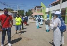 Piura: Reportan que 118 comerciantes del mercado de Castilla dieron positivo a coronavirus