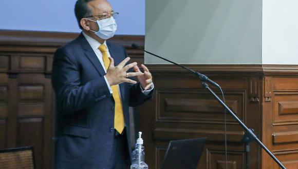 El viernes 16 de abril por 62 votos a favor se aprobó la acusación constitucional 371 contra Edgar Alarcón, mientras que su suspensión mereció el apoyo de 60 congresistas. (Foto: Congreso)