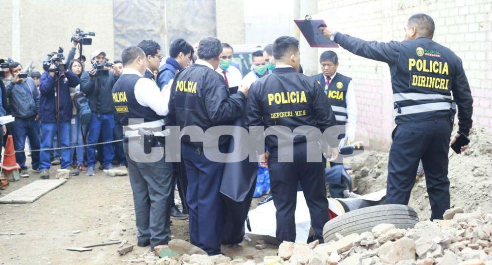 Encuentran cadáver de mujer en Villa El Salvador. Foto: Allen Quintana