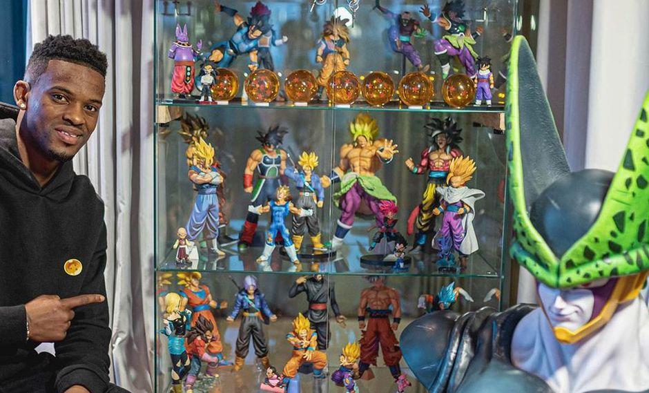 Esta es parte de la impresionante colección de figuras de Dragon Ball de Nelson Semedo. (Foto: Instagram)