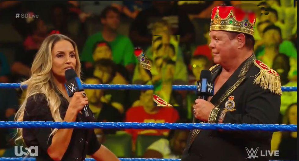 Trish está de vuelta en WWE. (Captura TV)