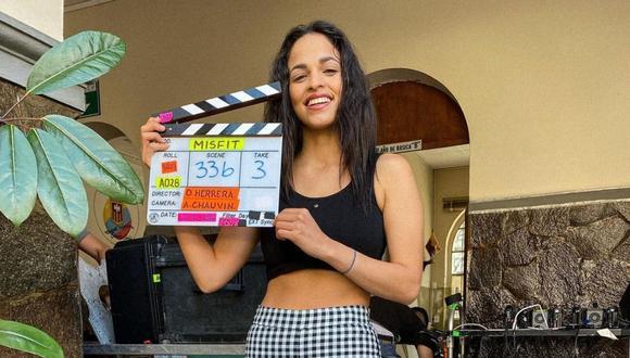 "Raysa Ortiz interpreta a Claudia en ""Misfit"", la nueva película de Enchufe TV. (Foto: @raysaortizv)."