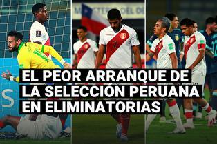 """La selección peruana y su peor arranque en las Eliminatorias con formato """"todos contra todos"""""""