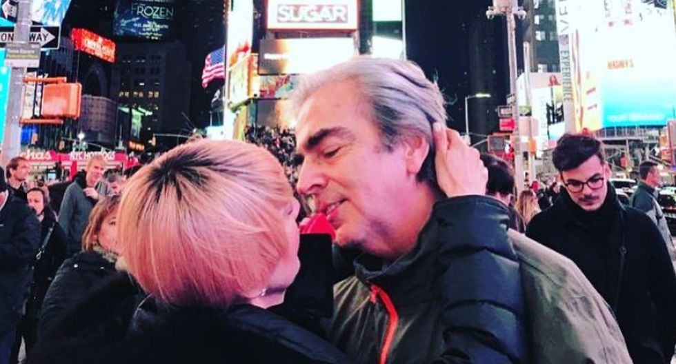 Lorenzo Lazo recordó a Edith González con una hermosa foto.(Foto: @lazomargain)
