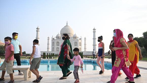 La variante Delta sería la responsable de las muertes en la India. (Foto: Money SHARMA / AFP)